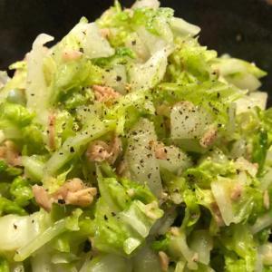 白菜であっさりサラダ