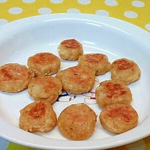【離乳食】魚ペースト&豆腐のおやき