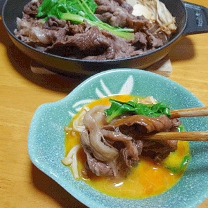 ワインの隠し味☆ 二人用「和牛の肉豆腐鍋」