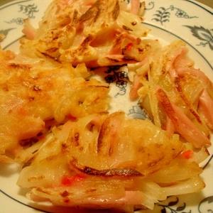玉葱と魚肉ソーセージのおやき