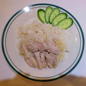 カオマンガイ/海南鶏飯(蒸し鶏のせごはん)
