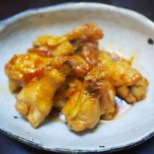 鶏手羽元のママレード煮