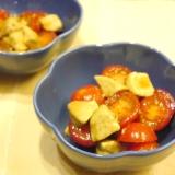 5分で完成★アボカドとミニトマトのポン酢サラダ