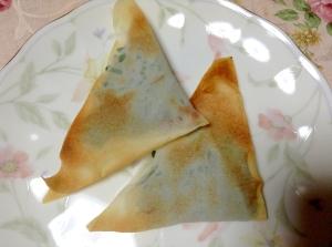 トースターで簡単♪シソ香る♡納豆チーズ春巻き