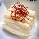 正月のお節にも!白い白菜のラーパーツァイ(甘辛酢)