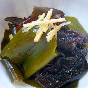 昆布ときくらげで作る常備菜