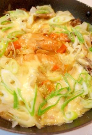 フライパン一つ♪味噌バター香る鮭のチャンチャン焼き