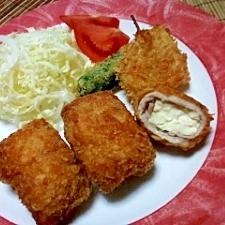 豆腐でかさ増し豚フライ