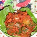 中華風!キュウリのトマト煮