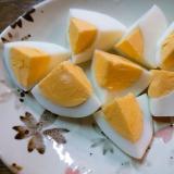 切り口の綺麗なゆで卵の切り方