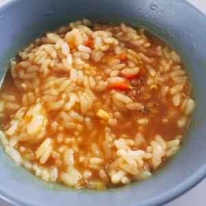カレー雑炊