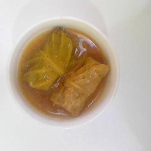 ロールキャベツのスープ煮