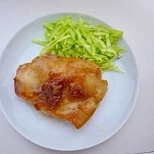 鶏肉の梅照り