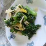 芥子菜の炒め物