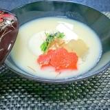 京都のお正月。白味噌雑煮(^^♪