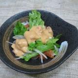 野菜サラダ オーロラソース