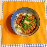もずく酢納豆ご飯♪