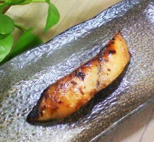 たまには変わった魚漬/さわらの山椒味噌漬