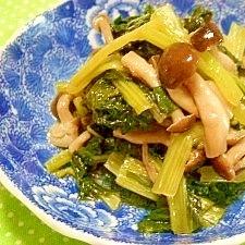 炊飯器で小松菜の煮浸し