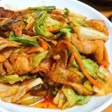 手作りタレで回鍋肉(味噌炒め)