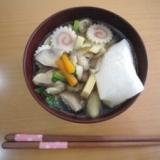 北海道育ち!しょうゆ味の具だくさんお雑煮