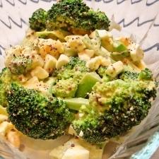 ブロッコリーと卵のマヨサラダ