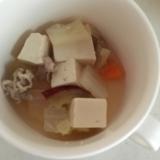 幼児食☆豆腐とさつまいもの豚汁╰(*´︶`*)╯☆