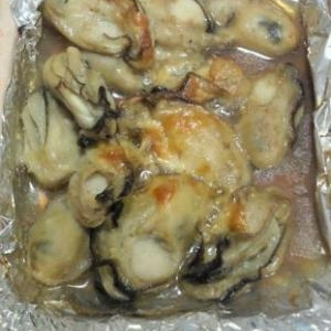 旬☆牡蠣のホイルでガーリックバター焼き