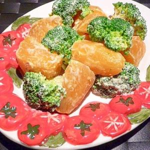 時短♪安納芋とブロッコリーの☆ホットサラダ