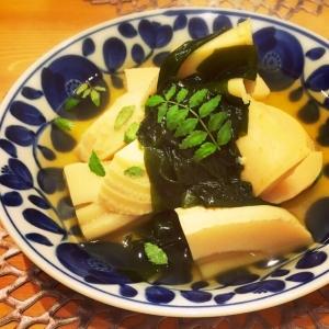 旬の筍♫料亭風♡春の香りの若竹煮♡