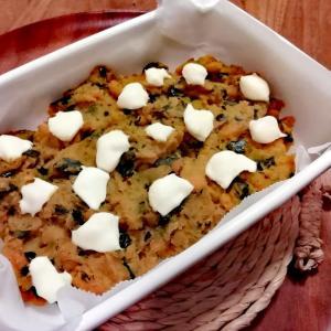 残った煮物で!かぼちゃのチーズ焼き