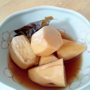 簡単☆大きめ里芋であっさり煮物