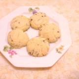 ほろほろ食感♪紫蘇の実のハーブクッキー