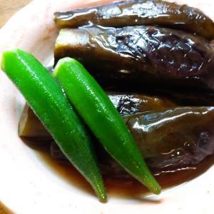 茄子とオクラのとろみ煮