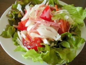 ☆サニーレタスとトマトとハムのサラダ☆