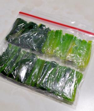 ほうれん草の冷凍保存