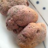 紫芋の豆腐スコーン