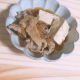 家族が喜ぶ肉豆腐♢
