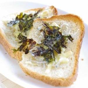 ジャコとチーズの和風トースト