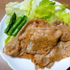 豚の生姜焼き肉タレ焼き