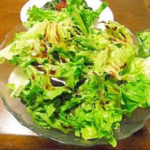 大家族は簡単に♪和えるだけグリーンサラダ