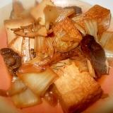 厚揚げ・白菜・椎茸の煮浸し