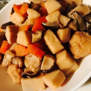 つみれ里芋にんじん椎茸で懐かしい味の煮物★