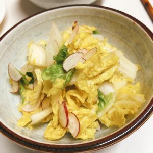 白菜のやみつき胡麻油サラダ