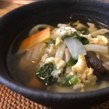風邪対策に!野菜と生姜たっぷり煮込みうどん