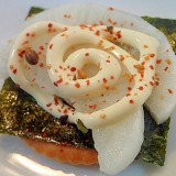 ❤味付け海苔とべったら漬けのマヨ七味リッツ❤