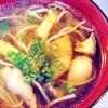 素麺きのこ椀