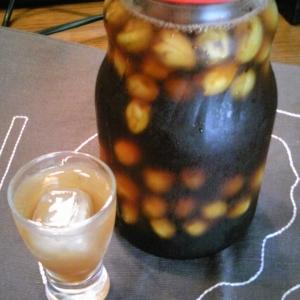 小梅の黒酢サワー