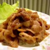 しゃきもちっ☆豚肉とレンコンのバルサミコ酢きんぴら