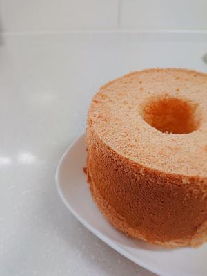 ふわふわしっとりシフォンケーキ